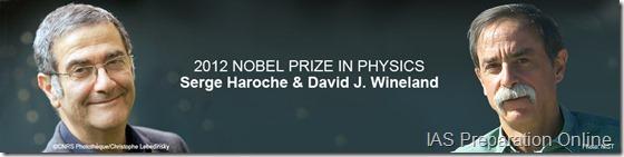 Nobel Prize 2012 physics • IAS Preparation Online