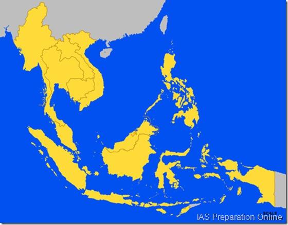 asean member states map