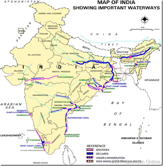 National_Waterways_of_India